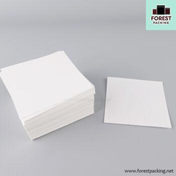 กระดาษซาลาเปา กระดาษรองซาลาเปา กระดาษสีขาว