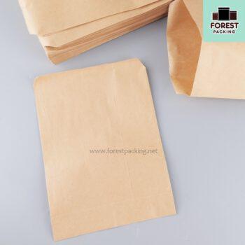 ซองฟู๊ดเกรด ถุงกระดาษ ถุงกระดาษคราฟท์ ถุงใส่ขนม ไม่ขยายข้าง